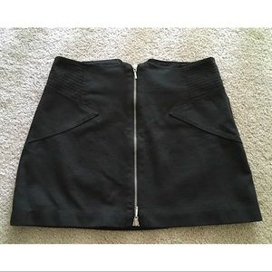 BCBGeneration - black with silver pencil skirt.